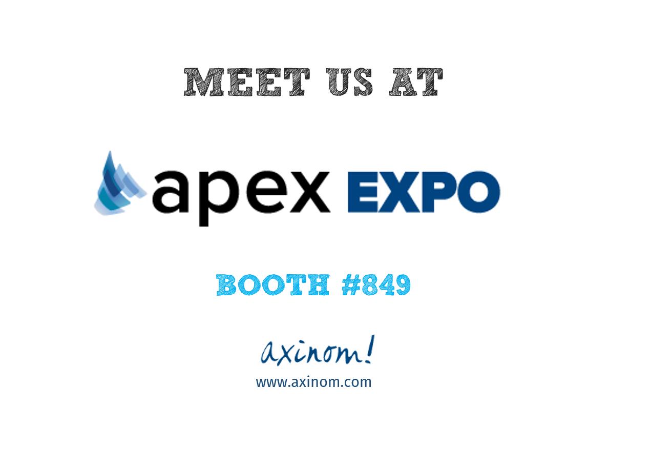 Meet us at APEX EXPO 2018