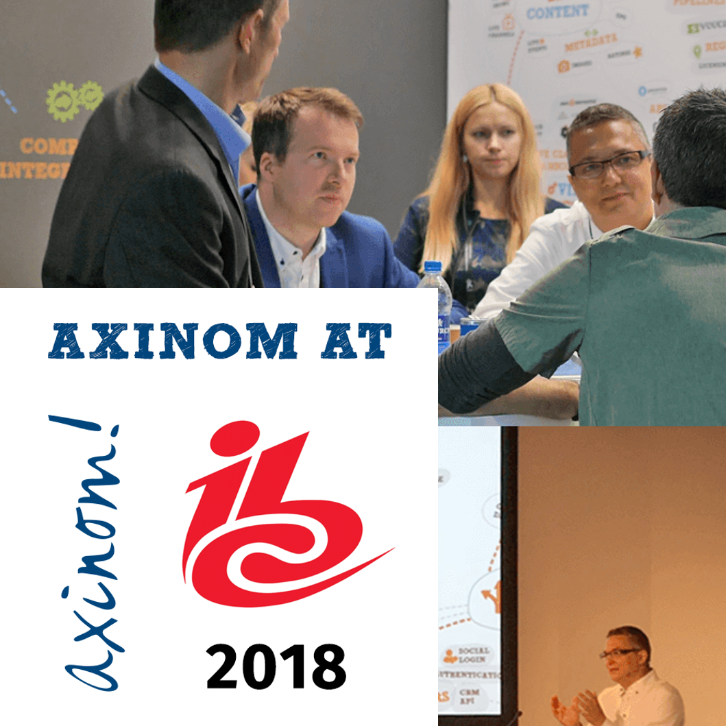 A lookback at IBC 2018 with Axinom