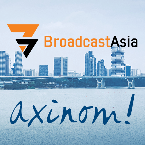 Meet us at Broadcast Asia 2019